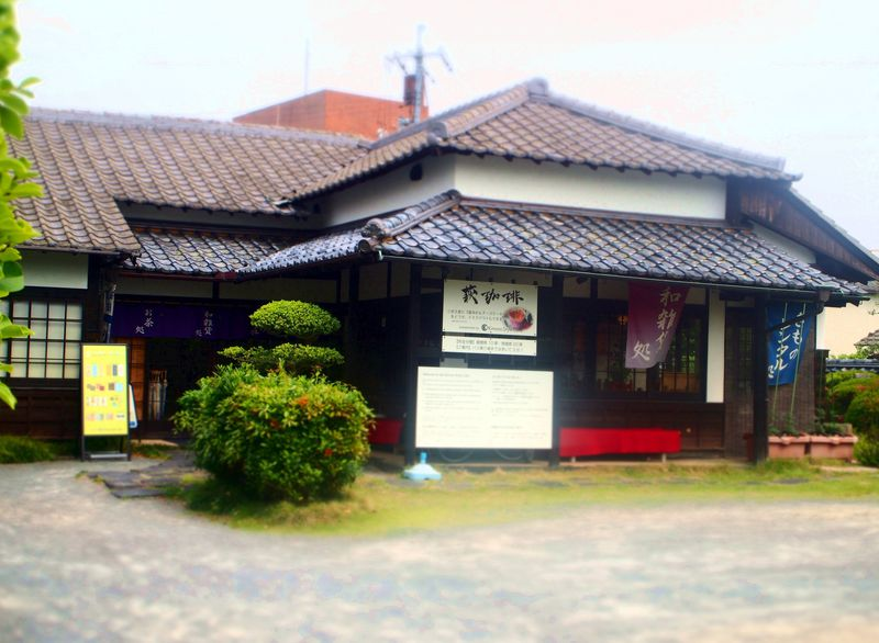 築120年の古民家カフェ!萩城下町「キモノスタイルカフェ」