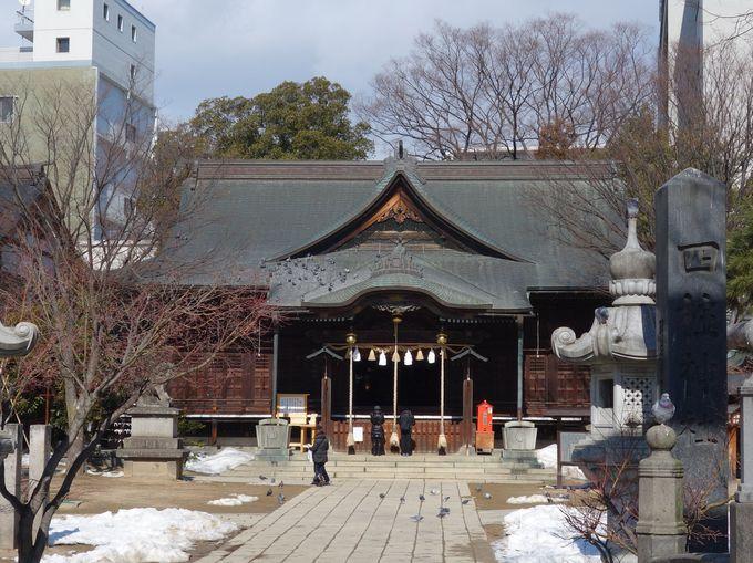四人の神様、四柱神社にお参りしよう