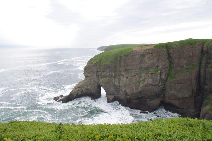 歓声があがる断崖絶壁の大絶景!涙岬・立岩