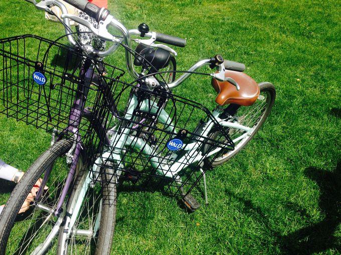 自転車を借りよう!