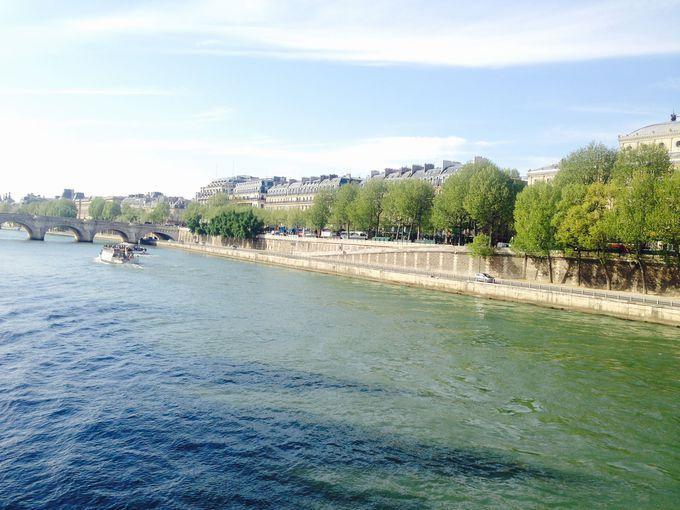 世界遺産「パリのセーヌ河岸」をぶらり散歩