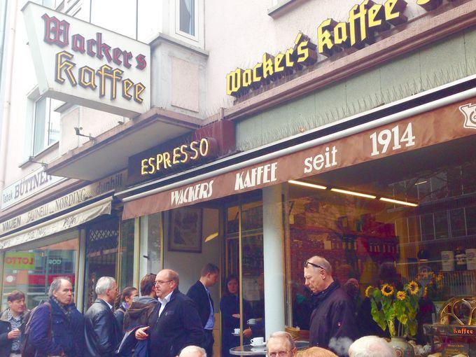 行列嫌いのドイツ人が、行列を成す!コーヒーなら「ヴェッカーズ・カフェ」