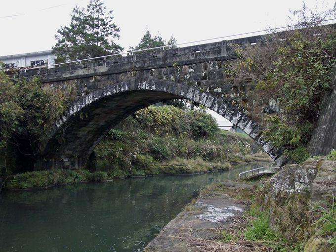 まずは世知原最大の石橋「倉渕橋(くらふちばし)」から。