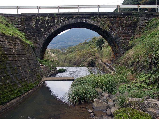 次は世知原の「眼鏡橋」ともいうべき古山橋(ふるやまばし)。