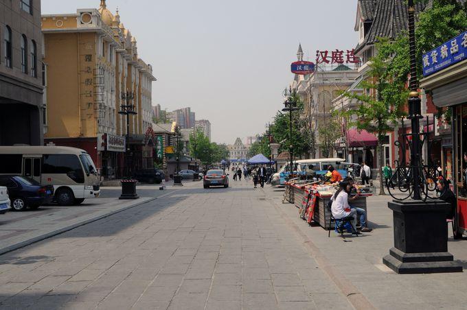 大連観光の定番、「旧ロシア人街」