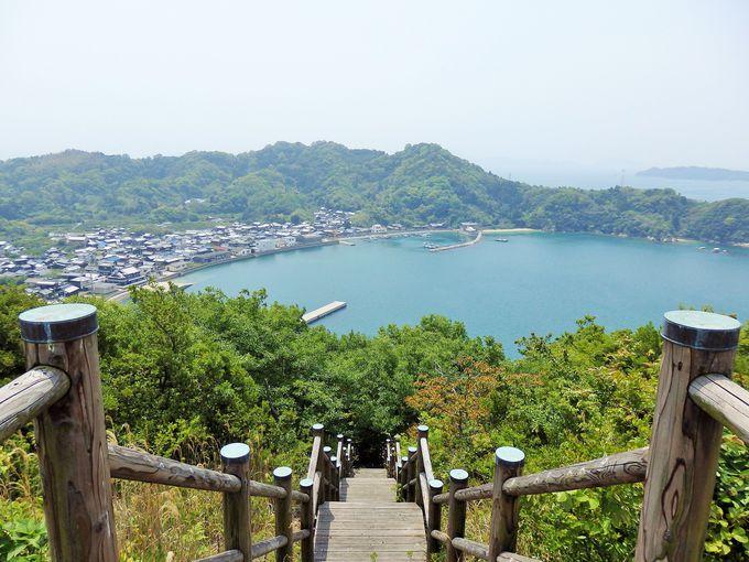 まさに絶景!瀬戸内海を一望できる皿山