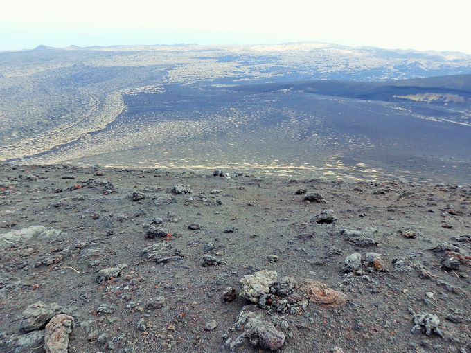 火山活動によってできたホルニト