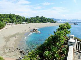 龍馬像と五色石で有名な景勝地!高知県・桂浜を歩く