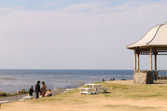 「角島灯台公園」のんびりお散歩コース