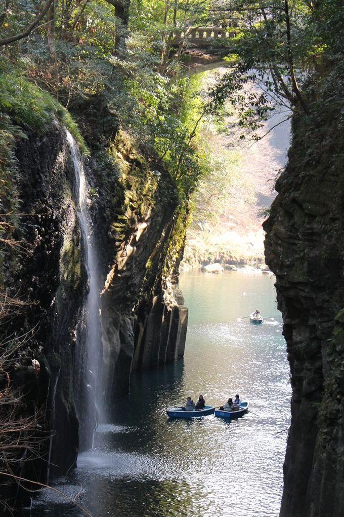 聖なるエネルギーを吸収!日本神話が宿る絶景パワースポット「高千穂峡」(宮崎)