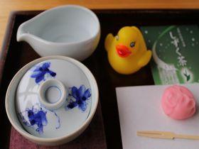 しずく茶と石臼茶ひきワクワク体験!福岡県星野村「茶の文化館」|福岡県|トラベルjp<たびねす>