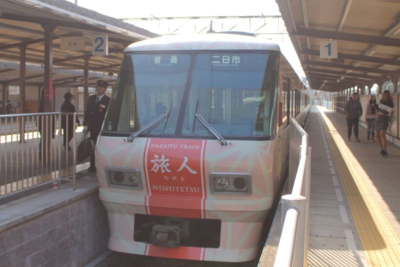 太宰府観光列車「旅人-たびと-」へのアクセスは?