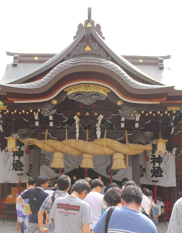 櫛田神社—「お櫛田さん」にお参りせんば
