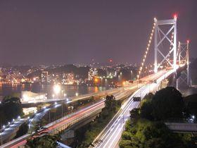 巨大吊り橋「関門橋」絶景ポイント!SNSにアップしたくなる素敵写真はココでパチリ!|福岡県|トラベルjp<たびねす>