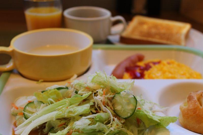 無料サービスなのに、メニューは日替わり!朝食ブッフェ