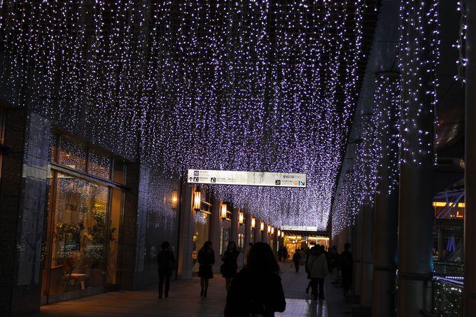 博多口「ペデストリアンデッキ」で福岡最高のイルミネーションを!