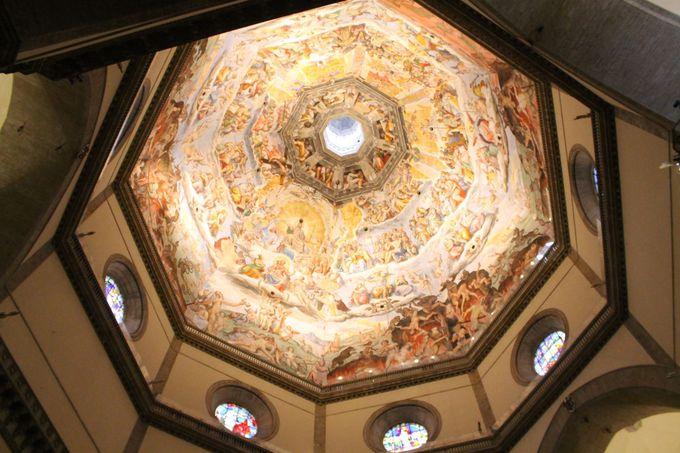 「クーポラ(Cupola)」傑作フレスコ画を間近で見られる!