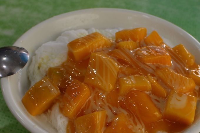 マンゴーかき氷「芒果雪花冰(マンゴーシュエホワピン)」