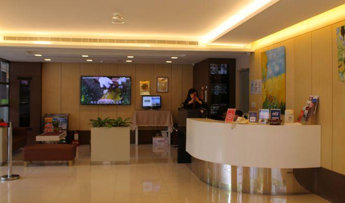 グリーンワールドホテルリンセン(林森館)は、日本語が通じるから心強い!
