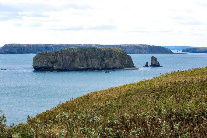 もう一つの岬、アゼチ岬