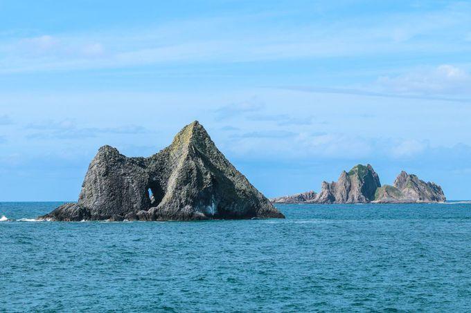 ソーラン節と奇岩を味わう、半島西側ルート