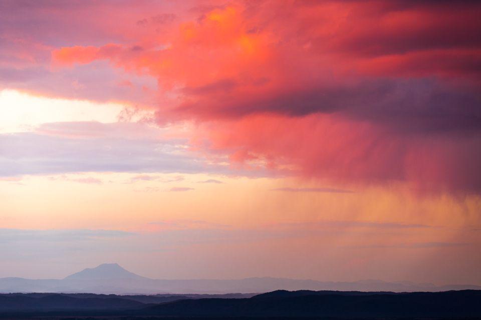 「細岡展望台」は、釧路湿原の夕景の絶好ポイント