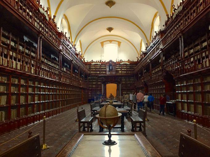 アメリカ大陸最古の公共図書館「パラフォシアナ図書館」