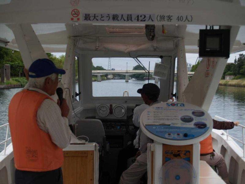 富山で楽しむカナルクルーズ!日本のパナマ運河を目撃!!