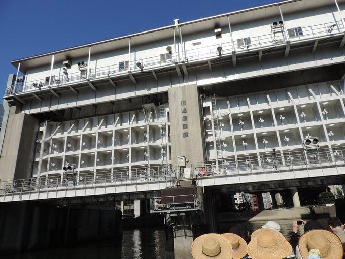 亀島川を通って日本橋にゴールイン