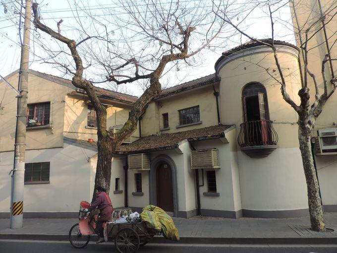 プラタナス並木と南欧風建築物が連なる「上海のパリ」