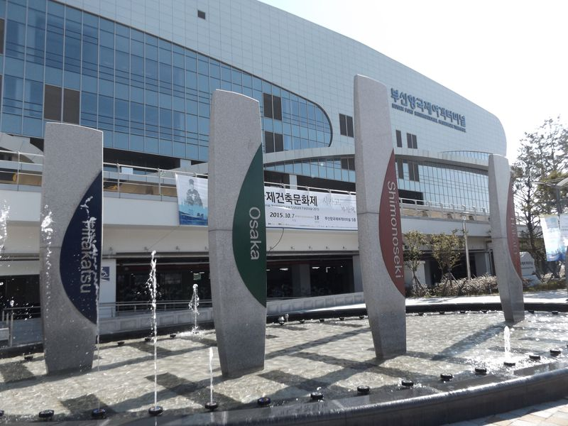 ダイナミックな変貌ぶりも体感!釜山国際フェリーターミナルから韓国へ