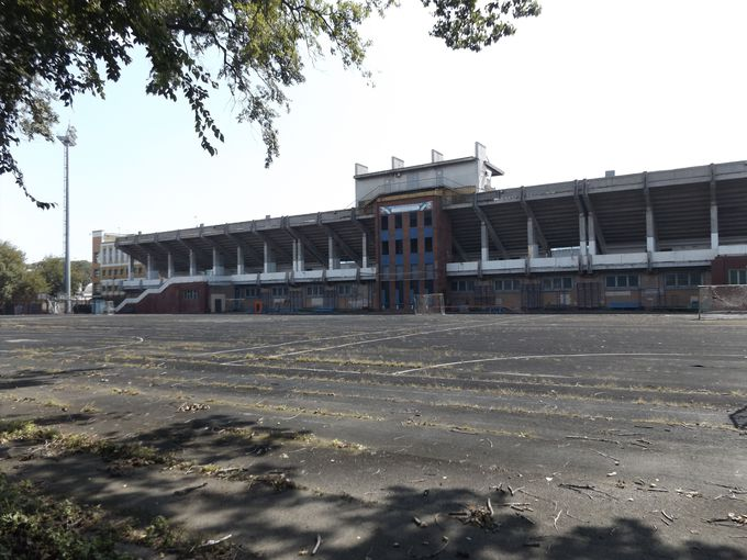 シベリアに抑留された日本人が建てたスタジアム