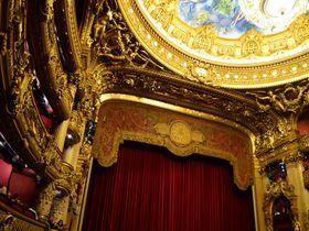 世界一美しいオペラ座「パレ・ガルニエ」で優雅な社交場を体験!フランス・パリ