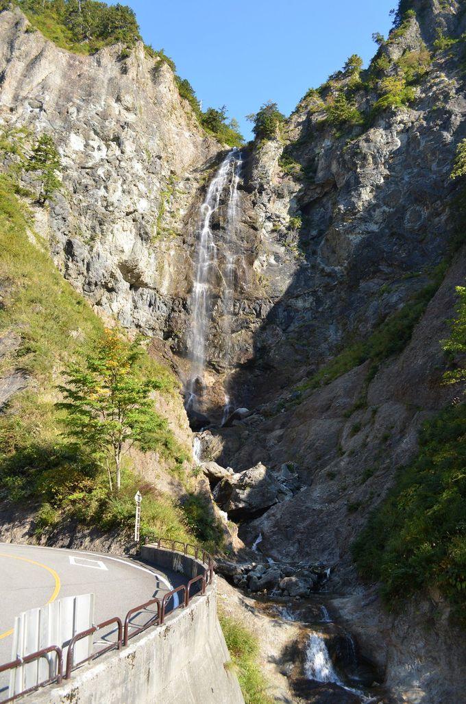 迫力の水しぶき!ふくべの大滝