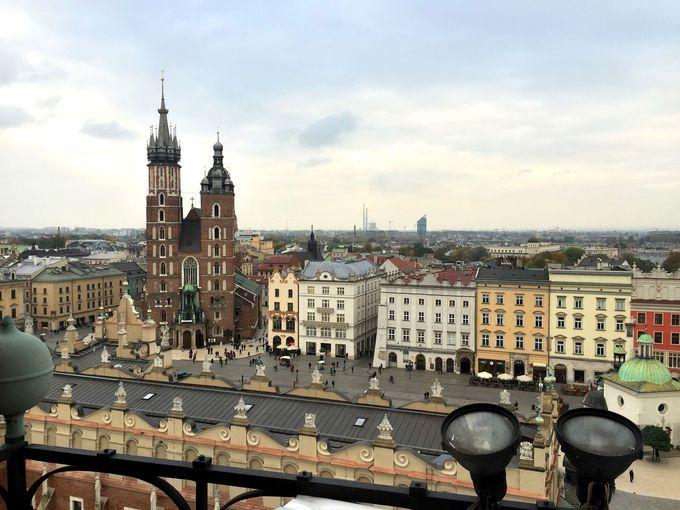 中世の街並みが美しい観光都市クラクフ