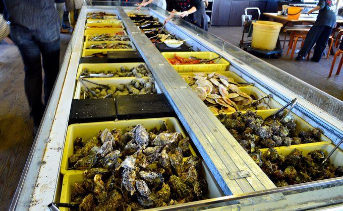 一生分の貝を食べられる店「まるはま」