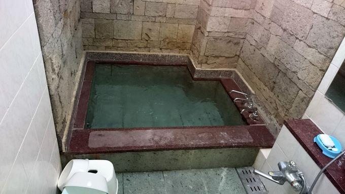 民宿なのに天然温泉