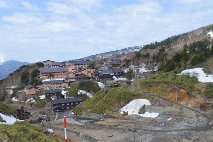 日本一の硫黄濃度!万座温泉