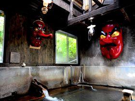 天狗と混浴?那須「北温泉旅館」でテルマエロマエの世界に浸かる!