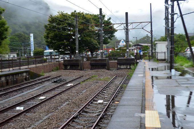 終着地・横川駅
