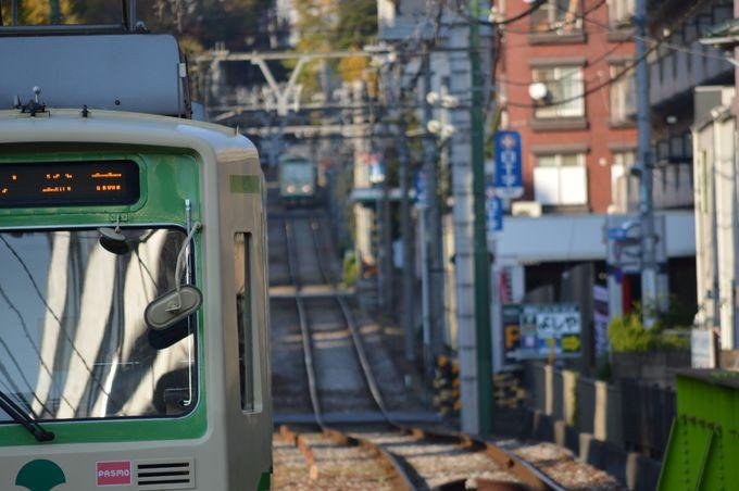 東京唯一の路面電車・都電荒川線