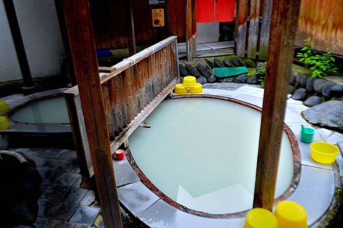 露天風呂は混浴