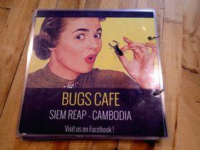 これなら食べられる!?シェムリアップのお洒落な虫料理専門店「Bugs Cafe」