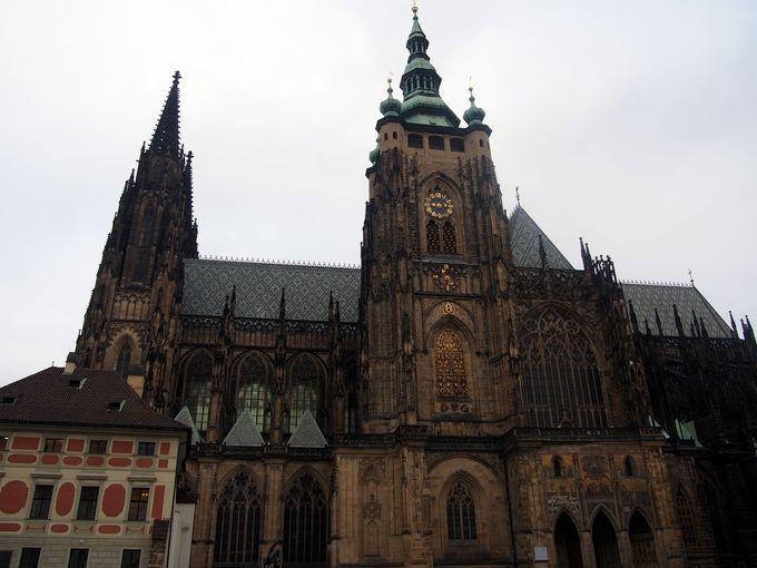 ゴシック様式が素晴らしい聖ヴィート大聖堂