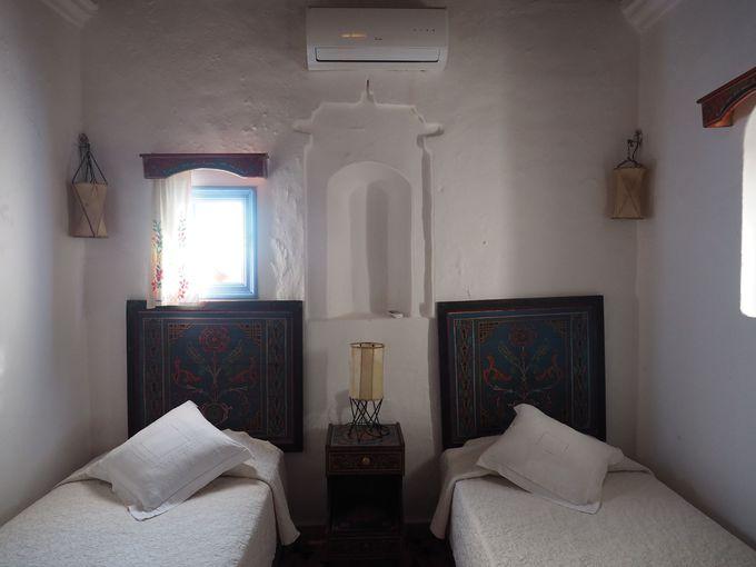 シンプルながらもメルヘンな雰囲気が漂う部屋