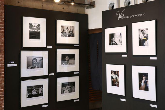 ザ・ビートルズの秘蔵写真も展示