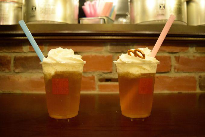 これが新感覚の本格フレンチクリーム台湾茶!