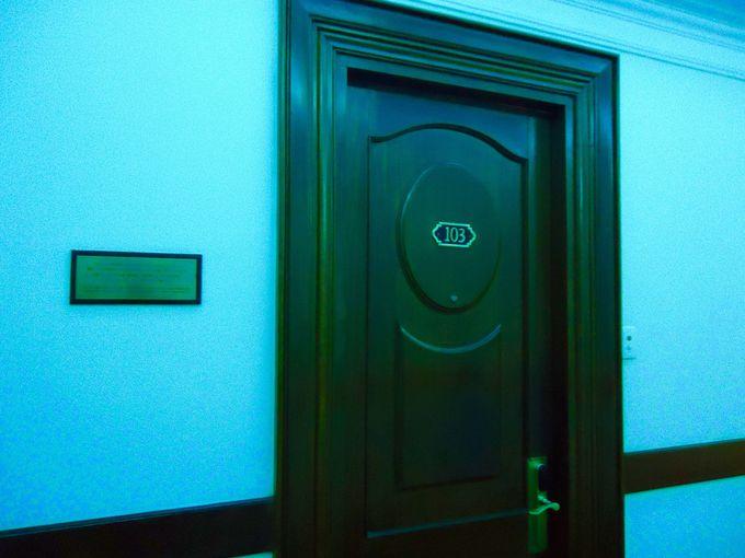 作家の開高健が滞在していた103号室