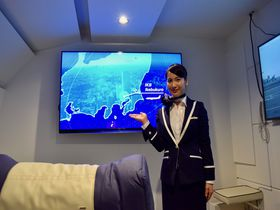 池袋便で海外旅行!? 世界初のVR空港施設「FIRST AIRLINES」