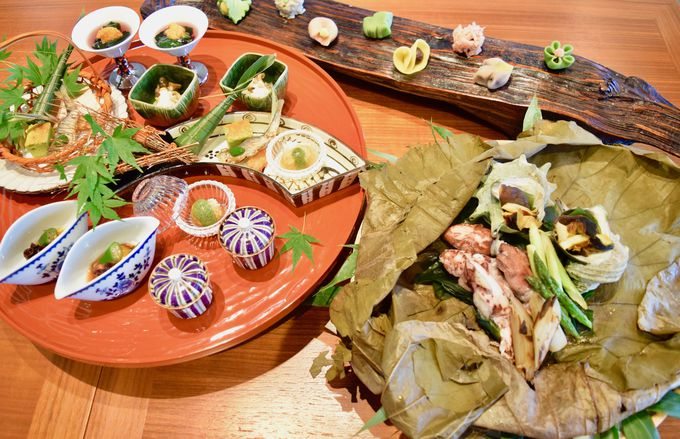 熱海ならではの食材と演出にこだわった日本料理